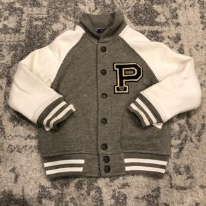 Polo Toddler Letterman Jacket